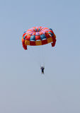 Paracadute variopinti Fotografie Stock