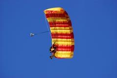 Paracadutista Fotografia Stock Libera da Diritti