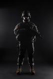 Paracadutista degli Stati Uniti Immagini Stock