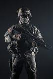 Paracadutista degli Stati Uniti Fotografia Stock