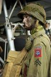 Paracadutista dell'americano di WWII   fotografia stock libera da diritti