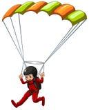 Paracaidismo Imagen de archivo libre de regalías