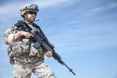 Paracaidista de Estados Unidos Fotos de archivo