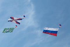 paracaidistas Imagen de archivo
