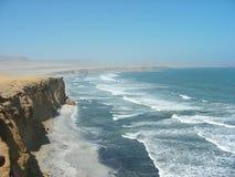 Paracas Krajowa rezerwa w Peru Zdjęcia Stock