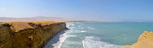 The Paracas National Reserve, Ica, Peru. stock photography