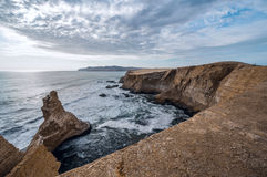 Paracas Nationale Reserve, Paracas, Ica Region, Peru. stock foto
