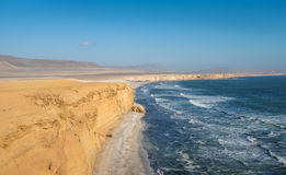 Paracas Natural Reserve, Peru. South America Royalty Free Stock Images