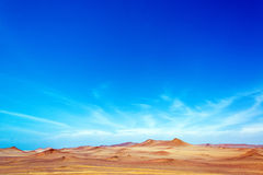 Paracas, Peru Landscape Royalty Free Stock Images