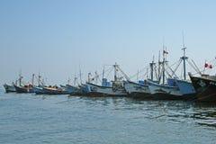 Paracas port Zdjęcia Stock