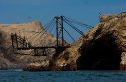 Paracas Schacht, Peru Lizenzfreies Stockbild