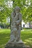 Paracelsus monument i Salzburg royaltyfri bild