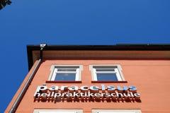 Paracelsus school Rosenheim Stock Image