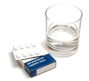 Paracetamol Stock Photo