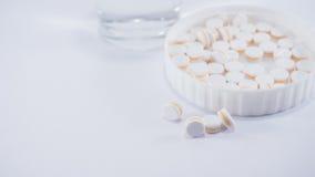 Paracetamol för smärtar lättnad Arkivbilder