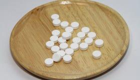 Paracetamol für gesunde Ergänzungen Lizenzfreie Stockbilder