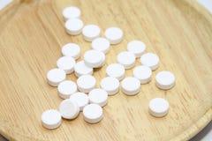 Paracetamol für gesunde Ergänzungen Stockbilder