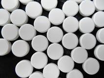 Paracetamol pigułka Zdjęcia Stock