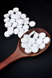 Paracetamol pill Stock Image