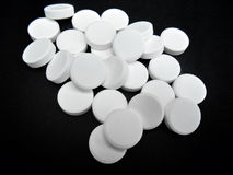 Paracetamol pill Royalty Free Stock Image