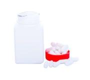 Paracetamol pills Stock Photo