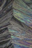 Paracetamol under the microscope Royalty Free Stock Images