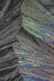 Paracetamol under mikroskopet Royaltyfria Bilder