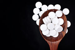 Paracetamolpreventivpiller Arkivbild