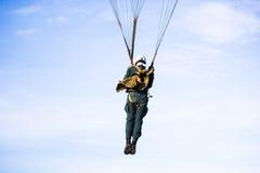 parachute Image libre de droits