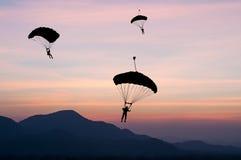 parachute Photos stock