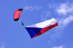 parachute Royaltyfria Bilder