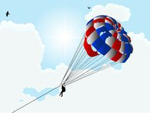 Parachute Royalty Free Stock Photo