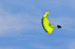 Parachute acrobat Royalty Free Stock Photos