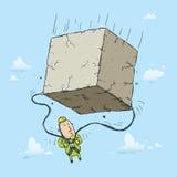 Parachute Block Stock Photography