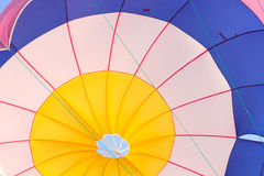 Parachute bottom view Royalty Free Stock Photo