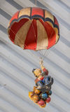 Parachute clown Stock Photography