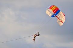Parachute coloré Photo stock