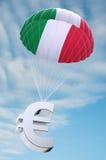 Parachute de l'Italie illustration de vecteur
