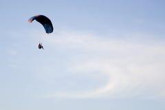 Parachute flying Stock Photos