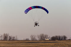 Parachute Glider Ultrta Light Stock Photos