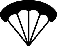 Parachute Icon. Vector sports icon Royalty Free Stock Photos