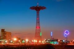 Parachute Jump - Brooklyn, New York Royalty Free Stock Images