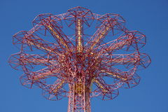 Parachute Jump in Coney Island Stock Image