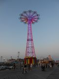 Parachute Jump on Coney Island Royalty Free Stock Photography