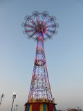 Parachute Jump on Coney Island Royalty Free Stock Image