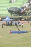 PARACHUTE JUMP Royalty Free Stock Image