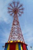 Parachute jump tower - famous Coney Island landmark in Brooklyn Stock Photography