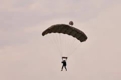 Parachute jumper at BIAS 2015 Stock Photo