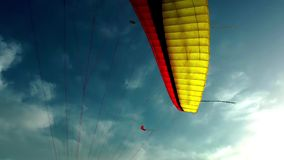 Parachute and Kites Stock Images