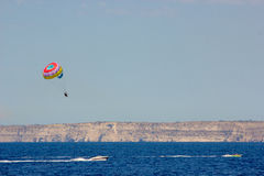 Parachute malta Stock Photography